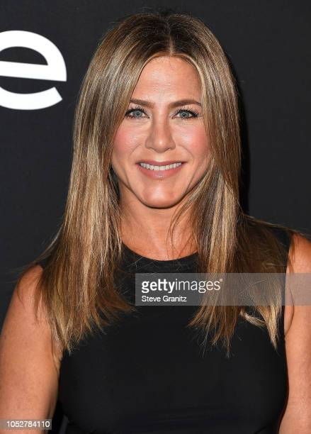 Jennifer Aniston arrives at the 2018 InStyle Awards at The Getty Center on October 22 2018 in Los Angeles California