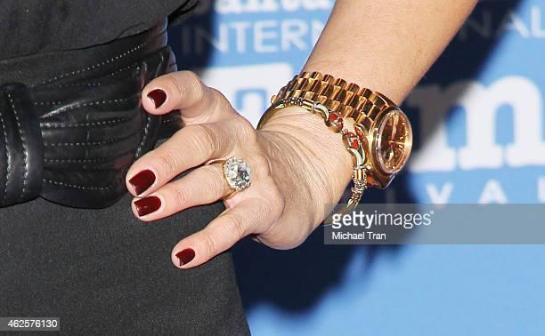 Jennifer Aniston arrives at the 30th Santa Barbara International Film Festival Montecito Award held at Arlington Theatre on January 30 2015 in Santa...