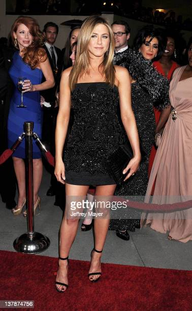 Jennifer Aniston arrives at the 64th Annual Directors Guild Of America Awards at the Grand Ballroom at Hollywood Highland Center on January 28 2012...