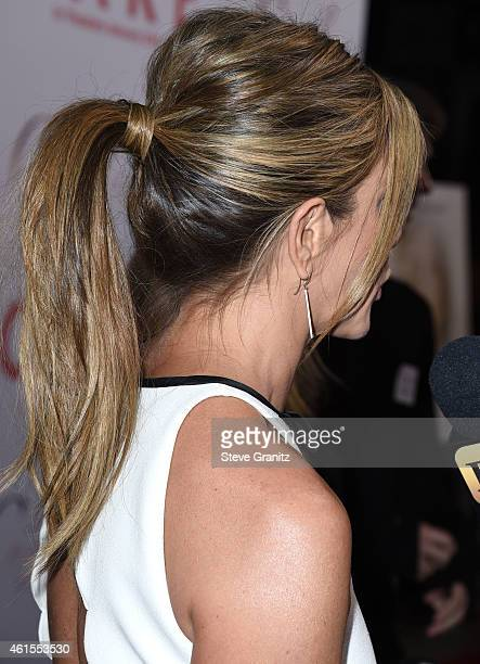Jennifer Aniston arrives at the 'Cake' Los Angeles Premiere on January 14 2015 in Hollywood California