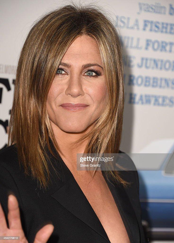 Jennifer Aniston arrives at the