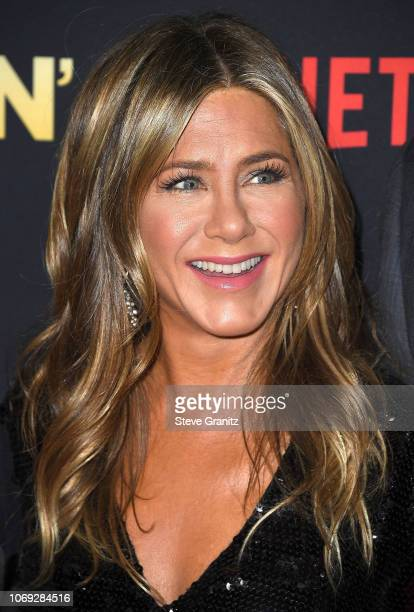 Jennifer Aniston arrives at the Premiere Of Netflix's 'Dumplin'' at TCL Chinese 6 Theatres on December 6 2018 in Hollywood California