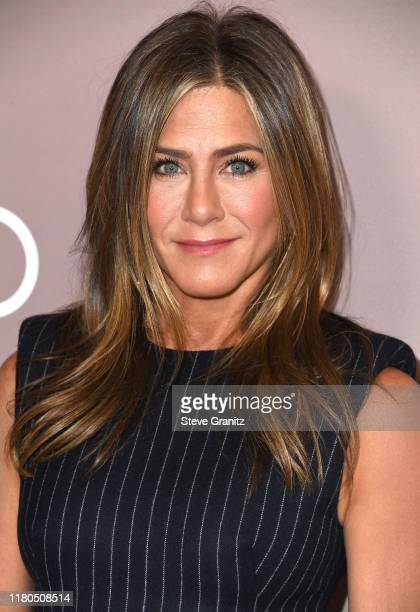 Jennifer Aniston arrives at the Variety's 2019 Power Of Women Los Angeles Presented By Lifetime at the Beverly Wilshire Four Seasons Hotel on October...