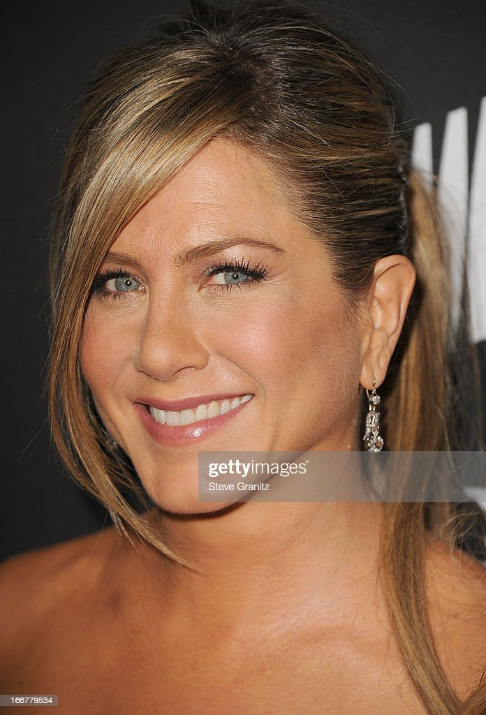 Jennifer Aniston arrives at the World Premiere Of The Lifetime Original Movie Event 'Call Me Crazy: A Five Film' at Pacific Design Center on April 16, 2013 in West Hollywood, California.