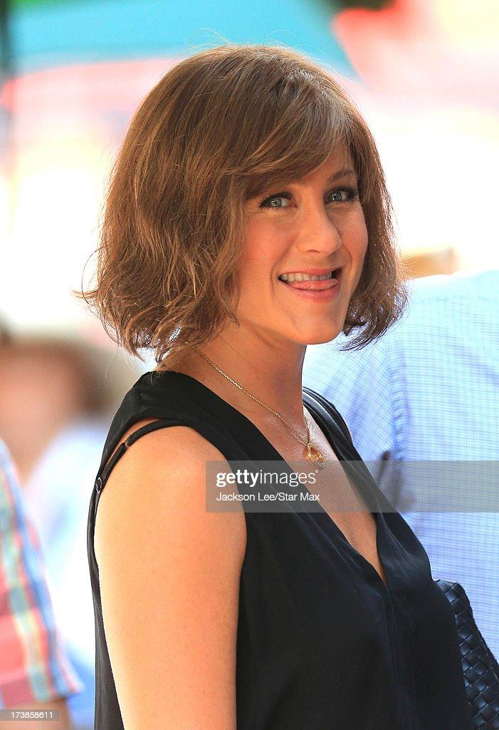 Jennifer Aniston as seen on July 17, 2013 in New York City.