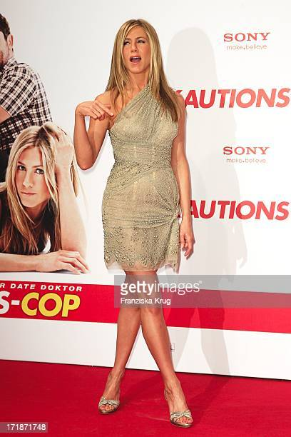 Jennifer Aniston at the Arrival Of The premiere movie 'The Bounty Hunter' in Berlin