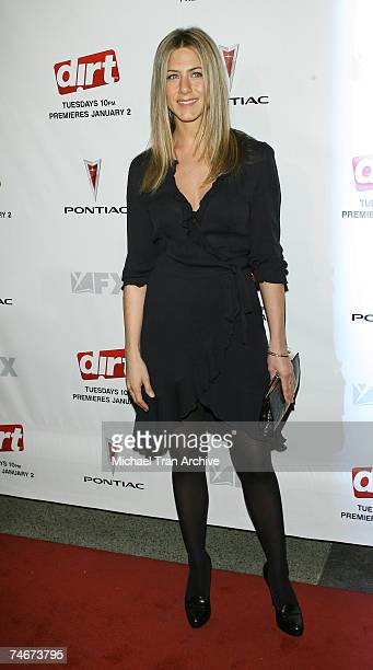 Jennifer Aniston at the Dirt FX Premiere Screening at Paramount Theatre in Los Angeles California
