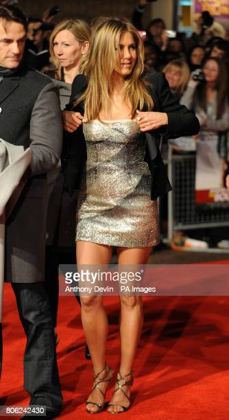 Jennifer Aniston at the Gala Premiere of Bounty Hunter at the Vue cinema in Leicester Square, London.