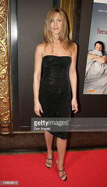 Jennifer Aniston at the State Theatre in Sydney Australia