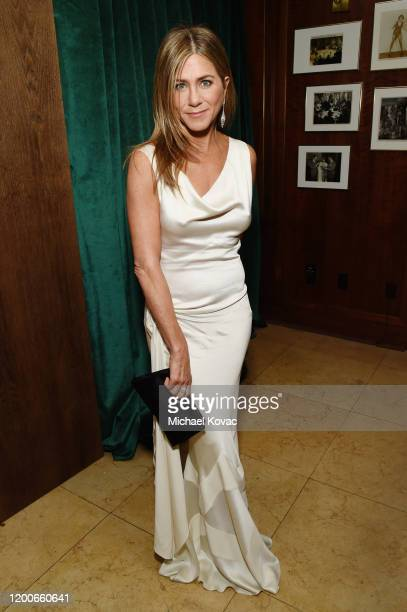 Jennifer Aniston attends 2020 Netflix SAG After Party at Sunset Tower on January 19, 2020 in Los Angeles, California.
