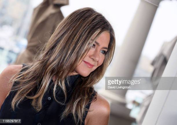 Jennifer Aniston attends a photocall of Netflix's Murder Mystery at the Ritz Carlton Marina Del Rey on June 11 2019 in Marina del Rey California