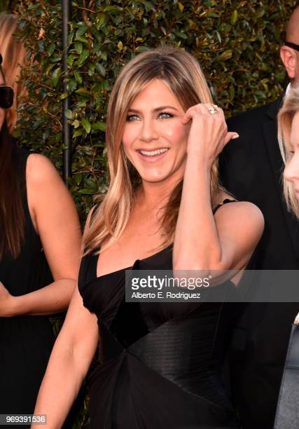 Jennifer Aniston attends American Film Institute's 46th Life Achievement Award Gala Tribute to George Clooney at Dolby Theatre on June 7 2018 in...