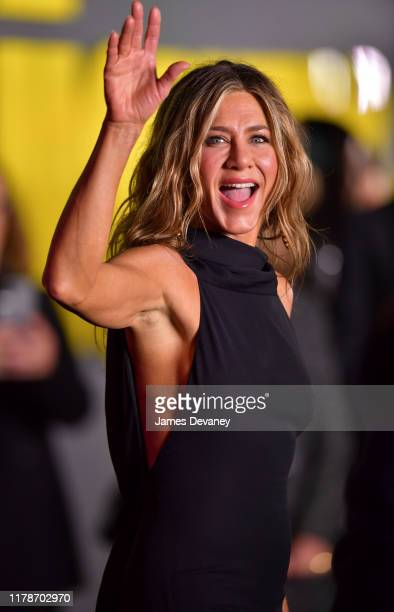 Jennifer Aniston attends Apple's The Morning Show premiere at Lincoln Center on October 28 2019 in New York City