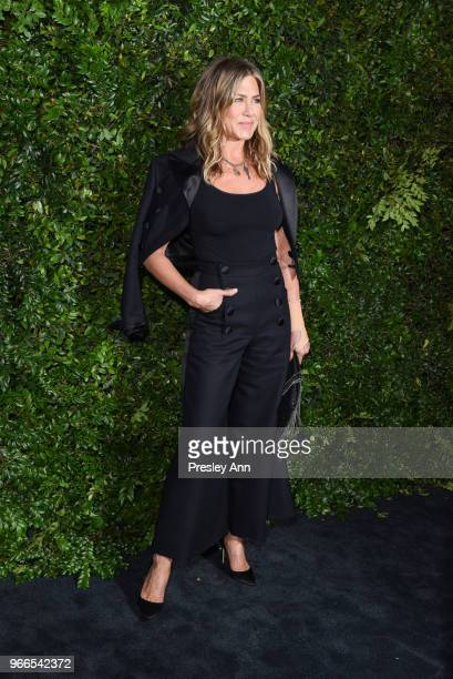 Jennifer Aniston attends CHANEL Dinner Celebrating Our Majestic Oceans A Benefit For NRDC on June 2 2018 in Malibu California