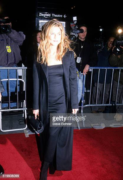 Jennifer Aniston attends premiere of 'Meet Joe Black' New York November 2 1998