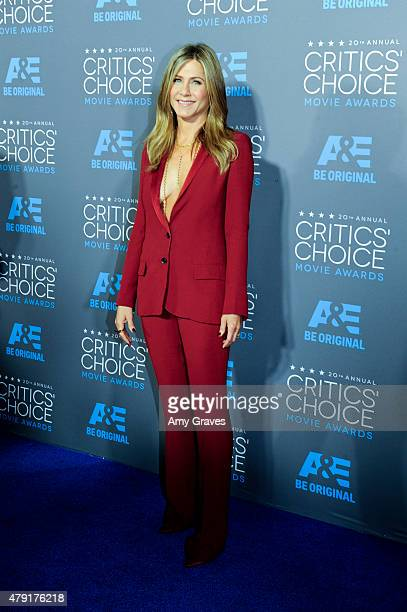 Jennifer Aniston attends the 20th Annual Critics' Choice Movie Awards on January 15, 2015 in Los Angeles, California.