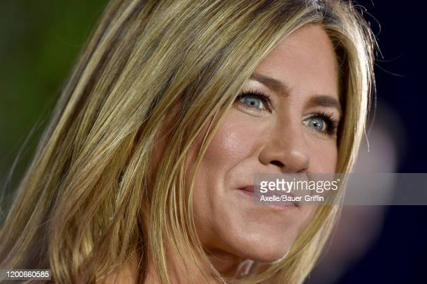 Jennifer Aniston attends the 26th Annual Screen Actors Guild Awards at The Shrine Auditorium on January 19, 2020 in Los Angeles, California.