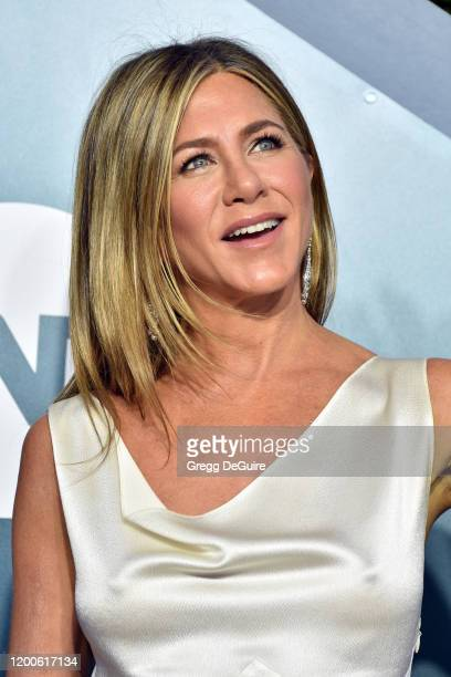 Jennifer Aniston attends the 26th Annual Screen ActorsGuild Awards at The Shrine Auditorium on January 19 2020 in Los Angeles California 721430