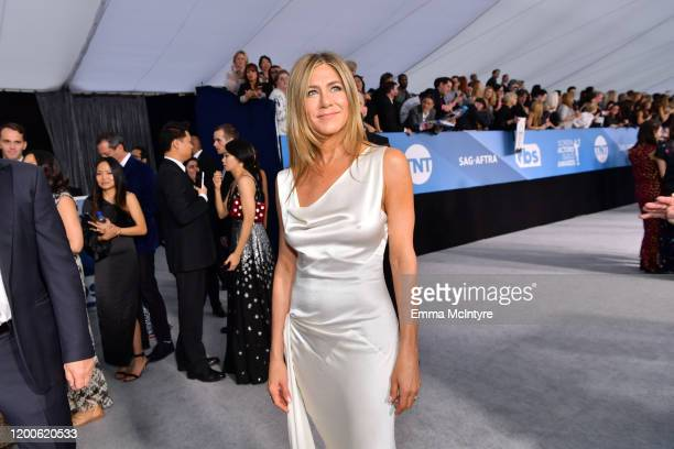 Jennifer Aniston attends the 26th Annual Screen ActorsGuild Awards at The Shrine Auditorium on January 19 2020 in Los Angeles California 721313