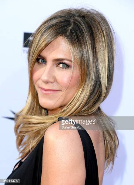 Jennifer Aniston attends the American Film Institute's 46th Life Achievement Award Gala Tribute to George Clooney at Dolby Theatre on June 7 2018 in...