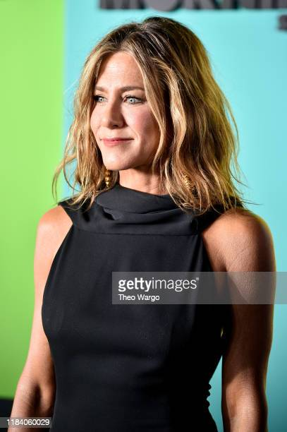 "Jennifer Aniston attends the Apple TV+'s ""The Morning Show"" World Premiere at David Geffen Hall on October 28, 2019 in New York City."