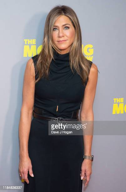 """Jennifer Aniston attends """"The Morning Show"""" special screening at Ham Yard Hotel on November 01, 2019 in London, England."""