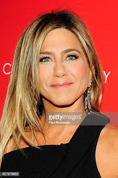 "Jennifer Aniston attends the Paramount Pictures with Paramount Pictures with The Cinema Society & Svedka Host a Screening of ""Office Christmas Party""..."