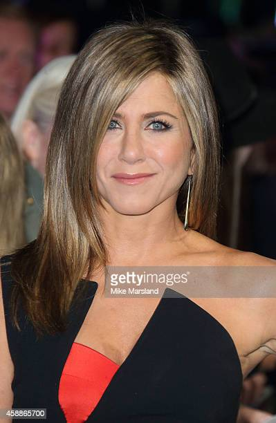 Jennifer Aniston attends the UK Premiere of Horrible Bosses 2 at Odeon West End on November 12 2014 in London England