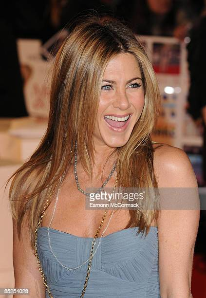 Jennifer Aniston attends the UK premiere of Marley Me at the Vue Leicester Square on March 2 2009 in London England