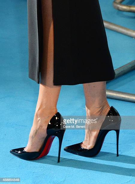 Jennifer Aniston attends the World Premiere of Horrible Bosses 2 at Odeon West End on November 12 2014 in London England