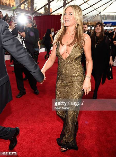 Jennifer Aniston attends TNT's 21st Annual Screen Actors Guild Awards at The Shrine Auditorium on January 25 2015 in Los Angeles California 25184_016