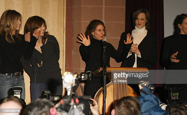 Jennifer Aniston Catherine Keener Nicole Holofcener director and Joan Cusack