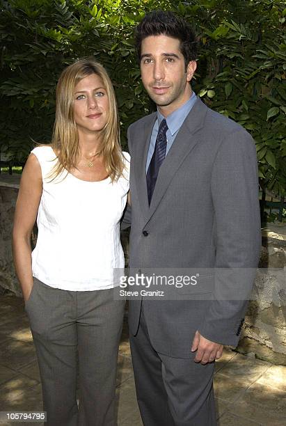 Jennifer Aniston David Schwimmer during Jennifer Aniston hosts the annual benefit for the Rape Treatment Center of Santa MonicaUCLA Medical Center...