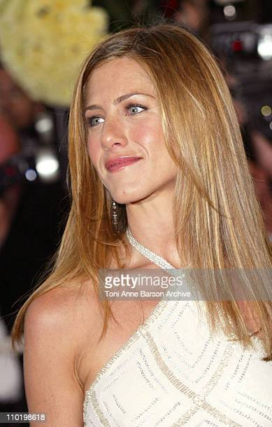Jennifer Aniston during 2004 Cannes Film Festival Troy Premiere at Palais Du Festival in Cannes France