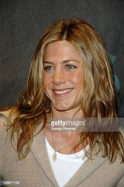 Jennifer Aniston during 2006 Sundance Film Festival 'Friends With Money' Press Conference at Sundance House in Park City Utah United States