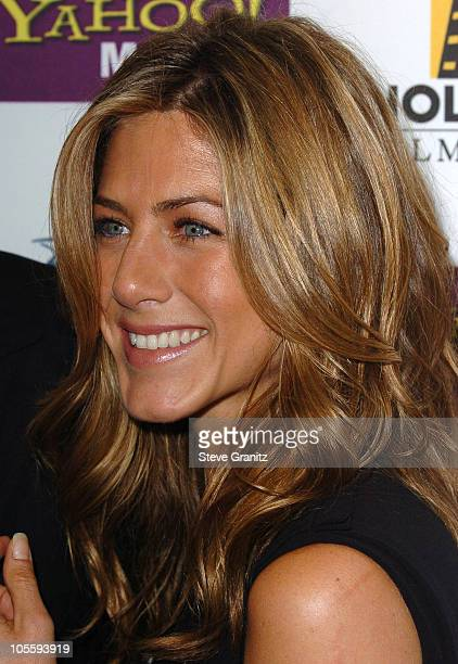 Jennifer Aniston during 9th Annual Hollywood Film Festival Awards Gala Ceremony Press Room at Beverly Hilton Hotel in Beverly Hills California United...