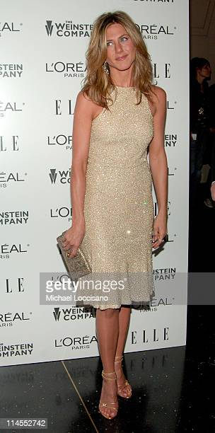 Jennifer Aniston during Derailed New York City Premiere Presented by L'Oreal and ELLE Magazine at Loews Theatre Lincoln Square in New York City New...