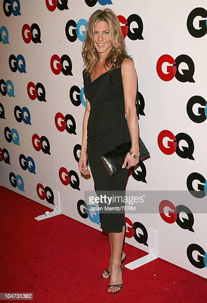 Jennifer Aniston during GQ Celebrates 2005 Men of the Year - Arrivals at Mr Chow in Beverly Hills, California, United States.