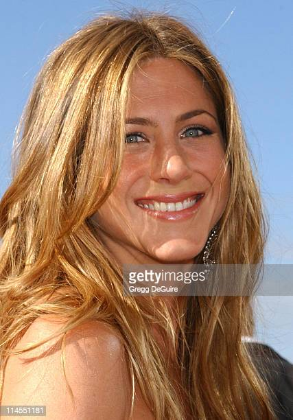 Jennifer Aniston during The 56th Annual Primetime Emmy Awards - Arrivals at The Shrine Auditorium in Los Angeles, California, United States.
