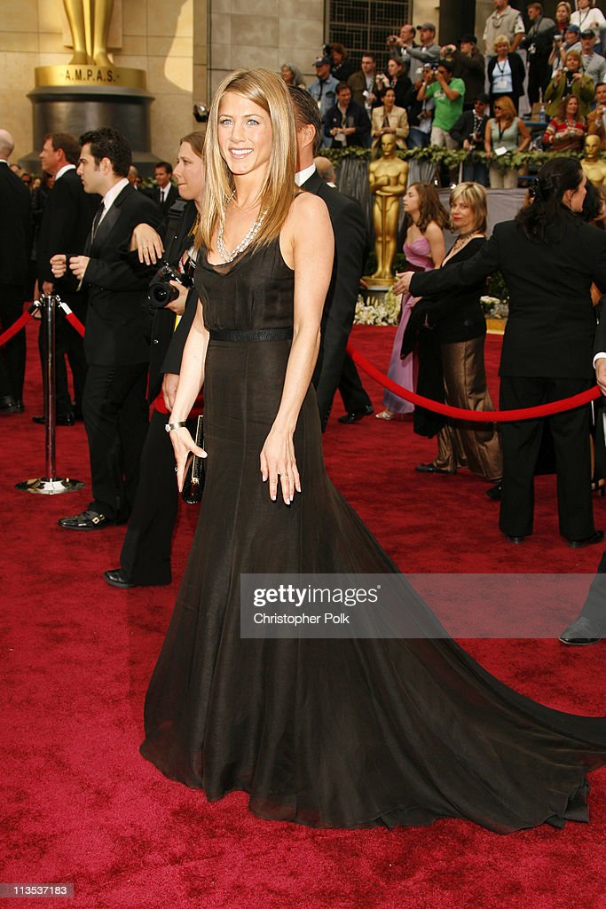 Jennifer Aniston during The 78th Annual Academy Awards – Arrivals at Kodak Theatre in Hollywood, California, United States.