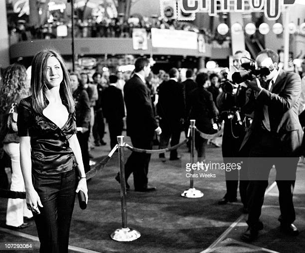 Jennifer Aniston during The World Premiere of Bruce Almighty Black White Photography by Chris Weeks at Universal Amphitheatre in Universal City...