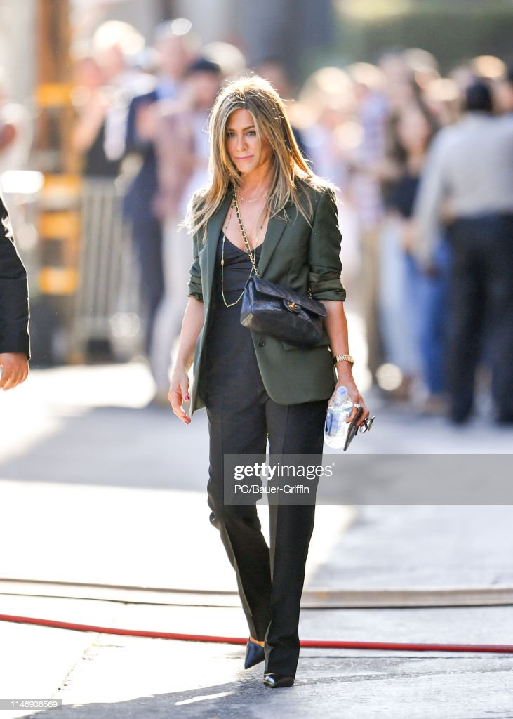 Jennifer Aniston is seen on May 29, 2019 in Los Angeles