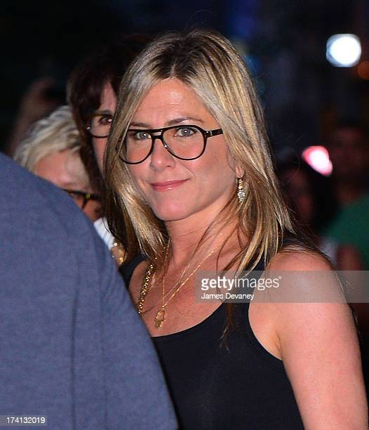 Jennifer Aniston leaves the NoMad Hotel on July 20 2013 in New York City