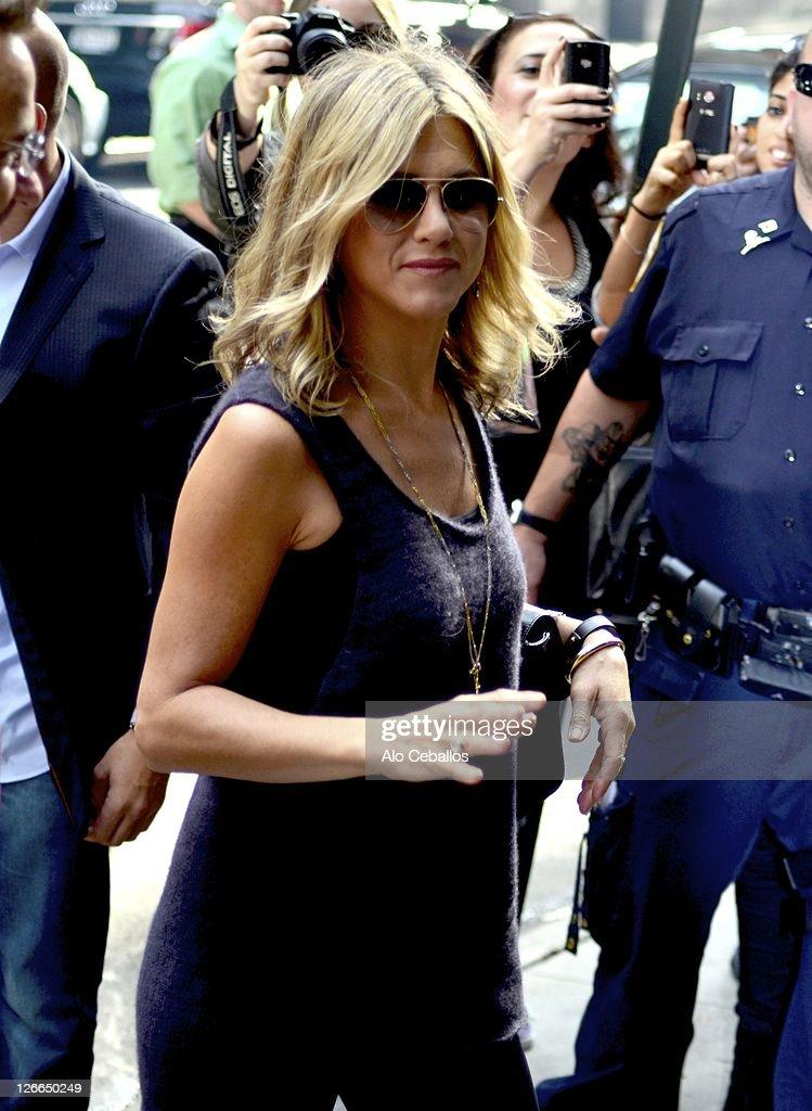 Celebrity Sightings In New York City - September 26, 2011 : News Photo