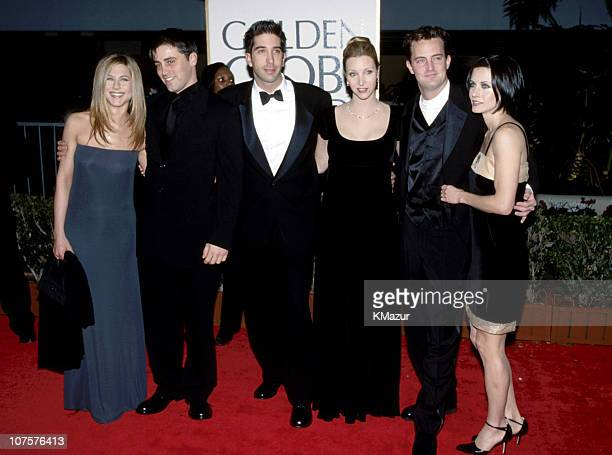 Jennifer Aniston, Matt LeBlanc, David Schwimmer, Lisa Kudrow, Matthew Perry & Courteney Cox