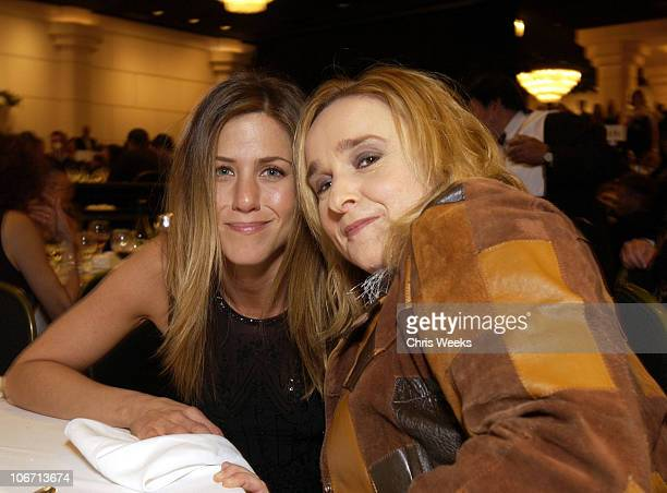 Jennifer Aniston Melissa Etheridge during Lili Claire Foundation's 5th Annual 'Helping Kids Fly Higher' Benefit at Beverly Hilton Hotel in Beverly...