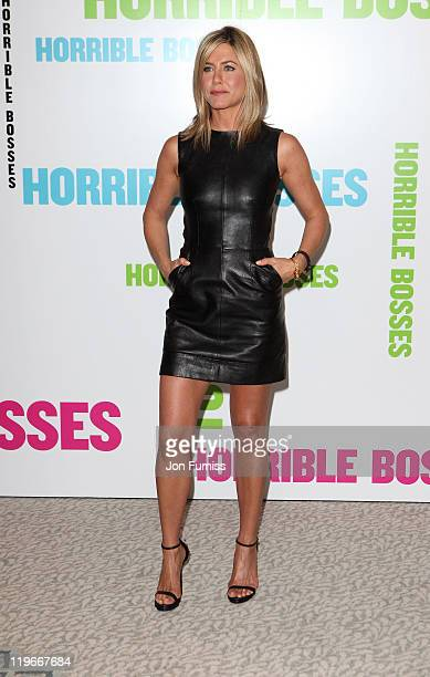 Jennifer Aniston promotes 'Horrible Bosses' at Dorchester Hotel on July 20 2011 in London England