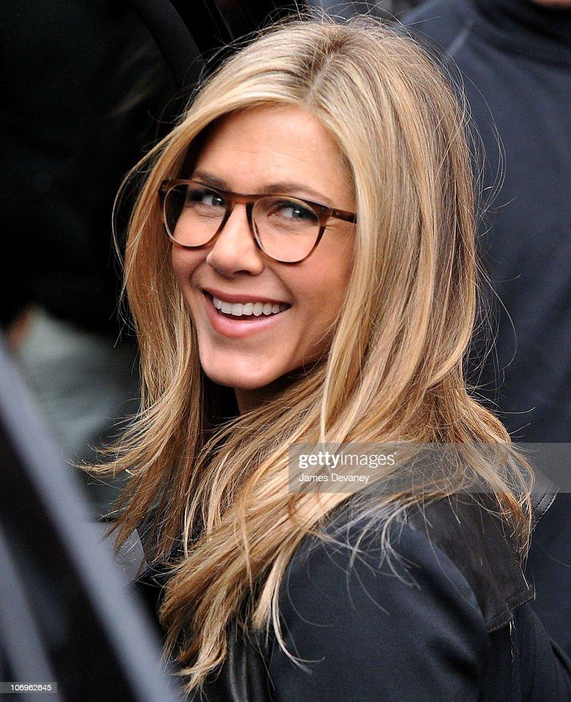 Celebrity Sightings In New York City - November  18, 2010 : News Photo