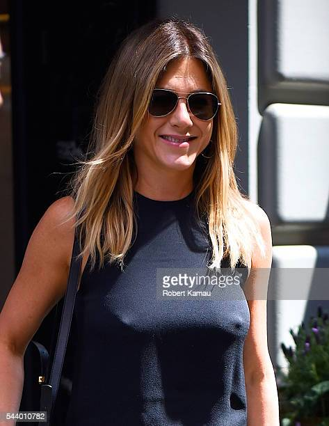 Jennifer Aniston seen out for lunch in Midtown on June 30 2016 in New York City