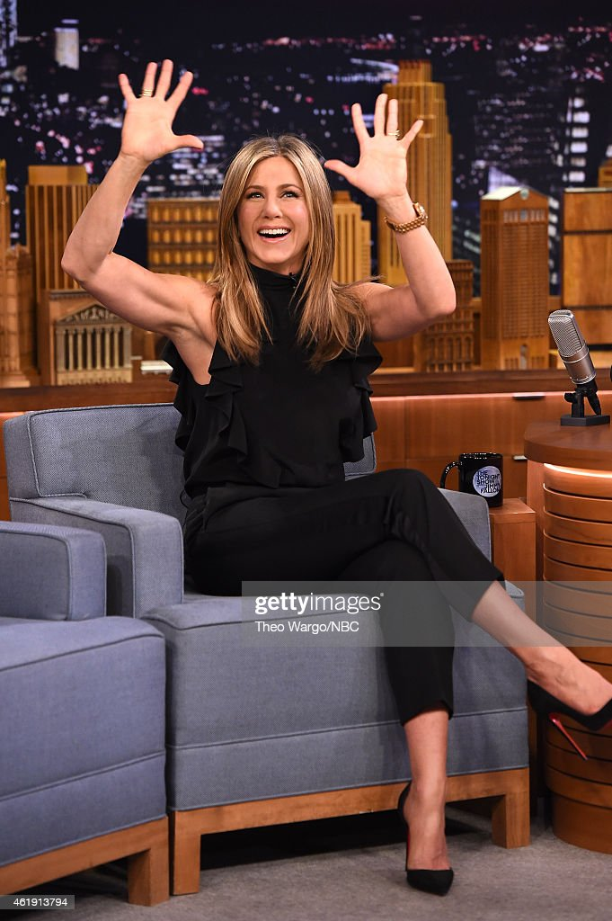"Jennifer Aniston Visits ""The Tonight Show Starring Jimmy Fallon"""